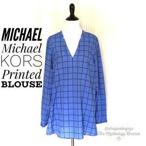 MICHAEL Michael Kors Printed Blouse
